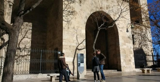 Les Torres de Serrans són una de les parades de la ruta 'València en la memòria'. LAURA L. DAVID