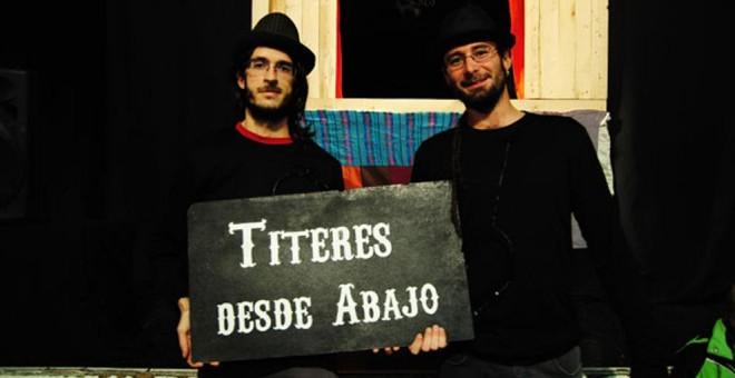 Los titiriteros vuelven a representar el 'Gora Alka ETA' que les llevó a prisión.