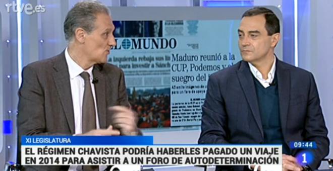 Espacio de debate en TVE