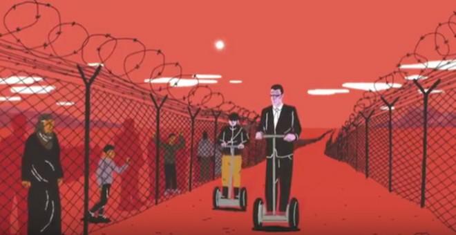Fragmento del vídeo 'Sin vías legales, dinero a raudales'