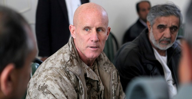 El vicealmirante Robert Harward. - REUTERS