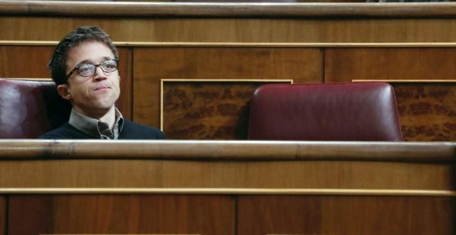 Errejón, en el Congreso. EFE