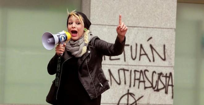Melisa, líder de Hogar Social Madrid.- EFE