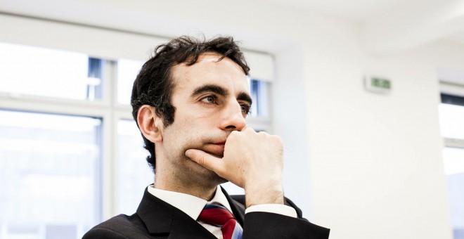El portavoz de la Plataforma por la independencia judicial, Manuel Ruiz de Lara