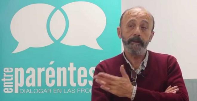 El activista José Palazón