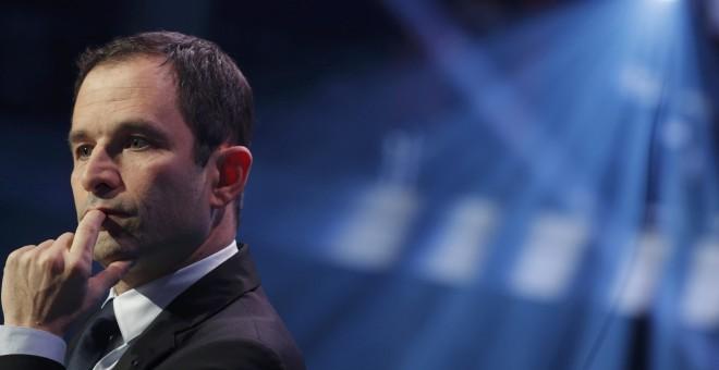 El candidato de la izquierda francesa Benoit Hamon. REUTERS/Philippe Wojazer