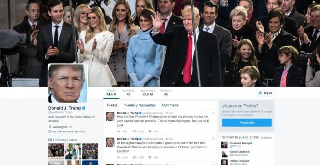 Trump acusa a Obama de pinchar sus teléfonos en Nueva York antes de su victoria