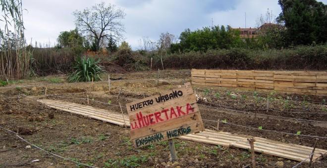 El Banco Malo quiere desahuciar a un huerto ecologista y sin ánimo de lucro