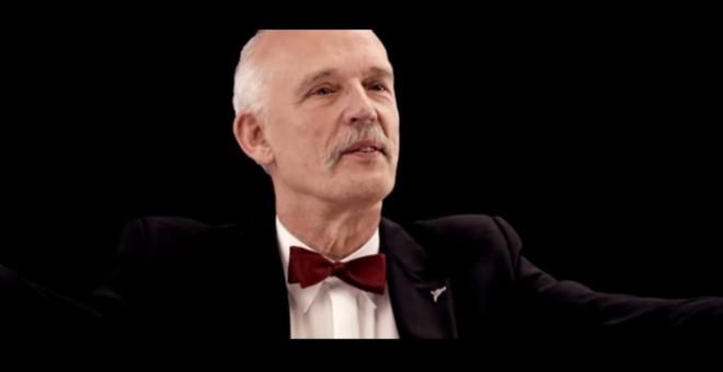 Janusz Korwin-Mikke, el eurodiputado polaco que siembra el odio en el Parlamento / YOUTUBE