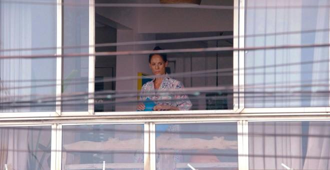 Sonia Braga interpreta el personaje principal en 'Doña Clara (Aquarius)'.