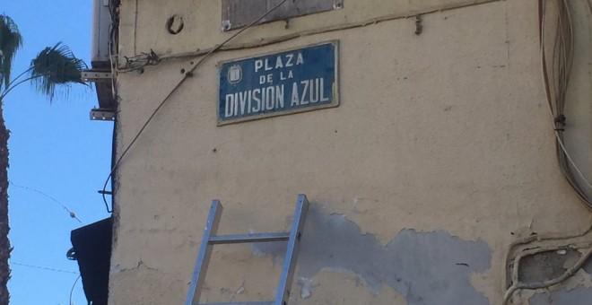 La plaza de la Igualdad vuelve a ser la plaza de la División Azul