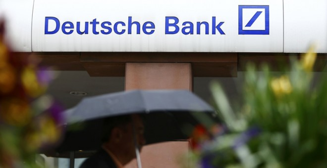 Una oficina de Deutsche Bank. REUTERS