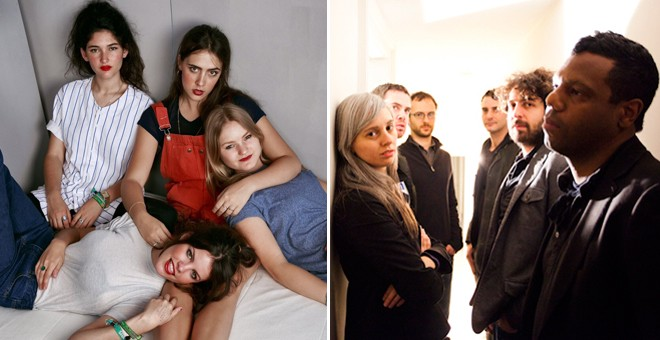 Hinds (antes, Deers) y The Dears.