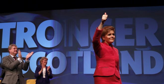 la ministra principal de Escocia, Nicola Sturgeon.- REUTERS
