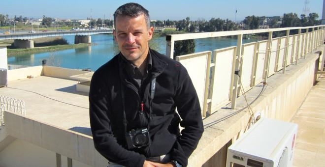 El reportero vasco Karlos Zurutuza