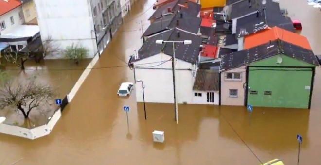 Inundaciones de Sada en Marzo de 2016