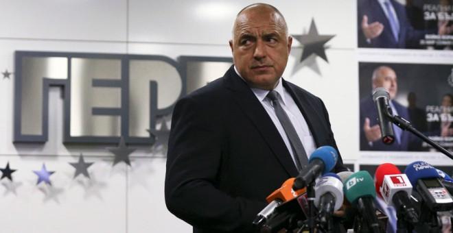 Boiko Borisov, este domingo en Sofía. REUTERS/Stoyan Nenov