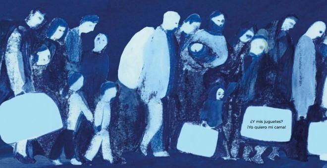 El drama de la migración en la mirada de una niña.- LA GALERA