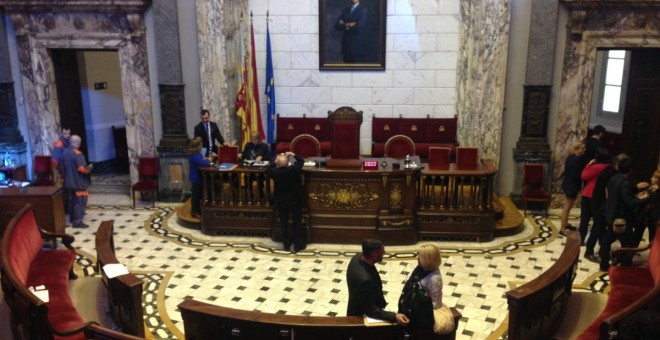 Pleno del Ayuntamiento de València.- @AjuntamentVLC