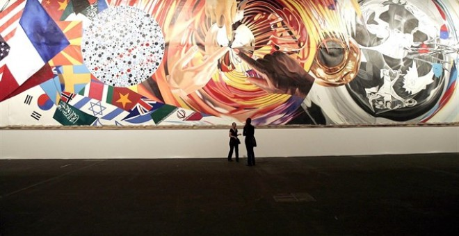 Obra de James Rosenquist. REUTERS