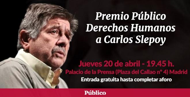 Homenaje al abogado Carlos Slepoy