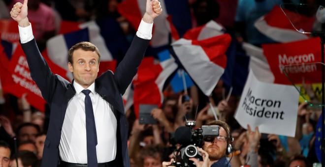 Emmanuel Macron. - REUTERS