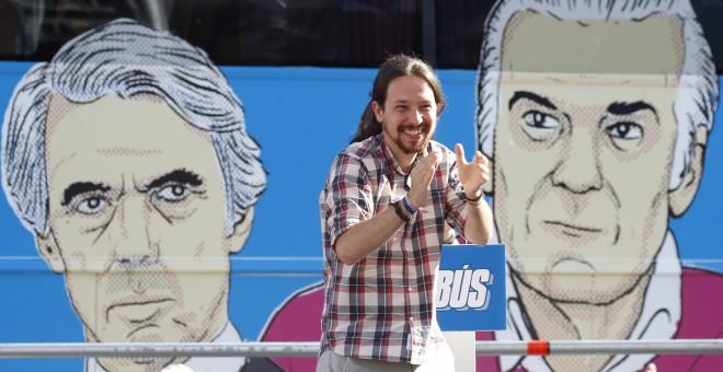 El secretario general de Podemos, Pablo Iglesias.- EFE