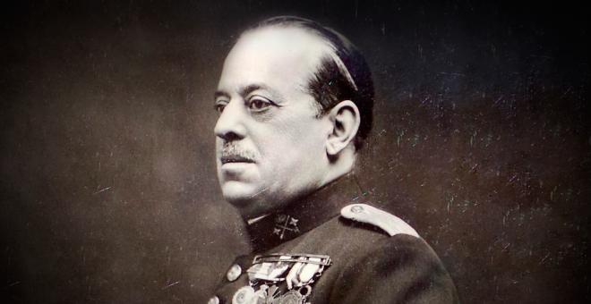 Imagen del general José Sanjurjo.