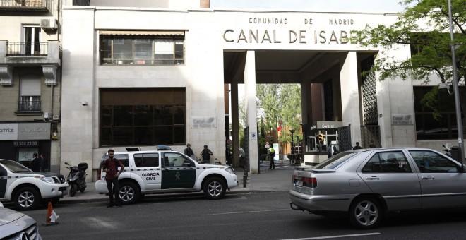 Operación de la Guardia Civil contra la corrupción en el Canal de Isabel II /EUROPA PRESS