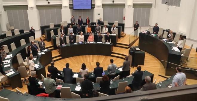 Pleno del Ayuntamiento de Madrid /EFE (Ballesteros)