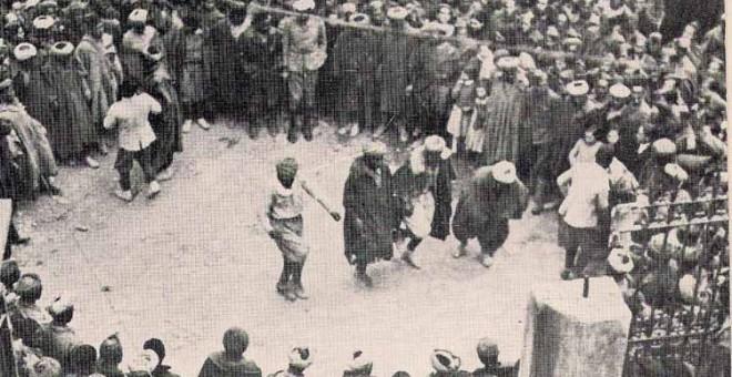 Las tropas regulares rifeñas desplegaron una atrocidad terrorífica durante su participación en la guerra civil española con los sublevados