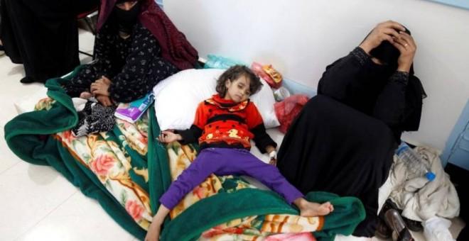 Cólera en Yemen.