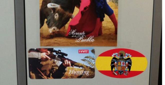 Imagen de unas taquillas de una comisaria española