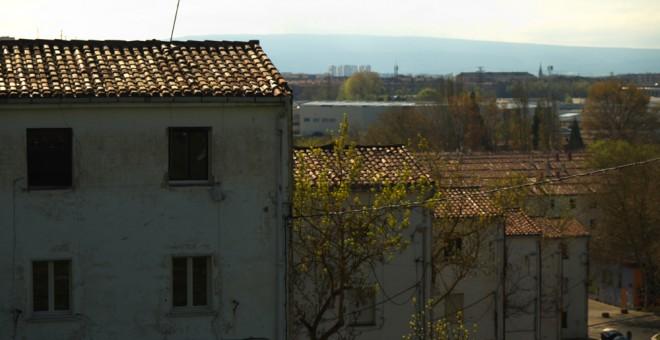 Vista del barrio vitoriano de Errekaleor.