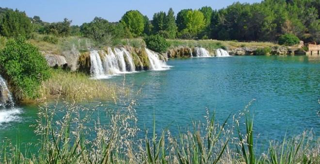 Lagunas de Ruidera (entre Albacete y Ciudad Real)