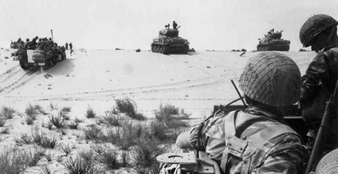 Guerra de los Seis días./AFP