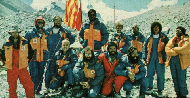 Expedició catalana a l'Everest l'any 1983