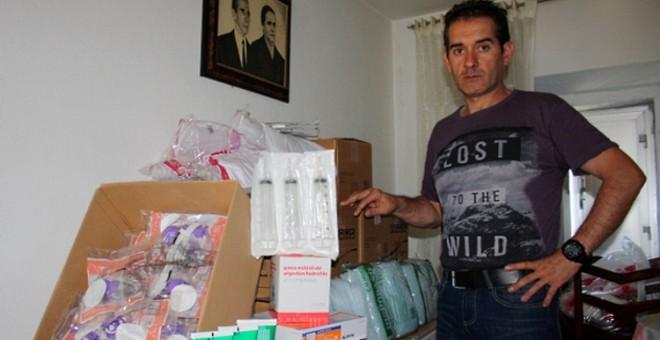 El hijo de Juan Abuín, el hombre que falleció por una gripe en Galicia
