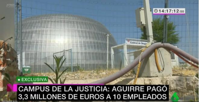 La macro Ciudad de la Justicia de Aguirre / LA SEXTA