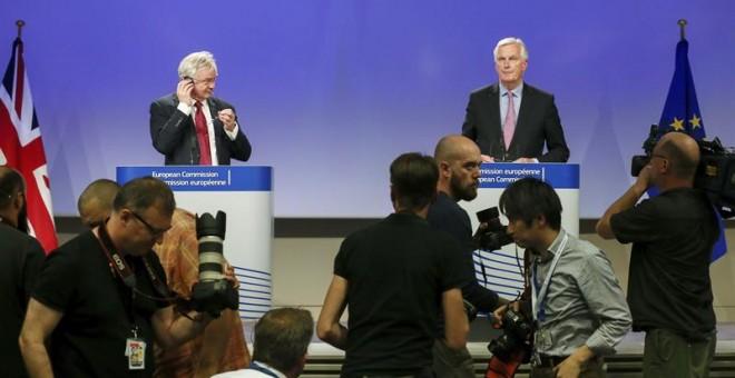 Bruselas y Londres acuerdan prioridades de negociación del Brexit