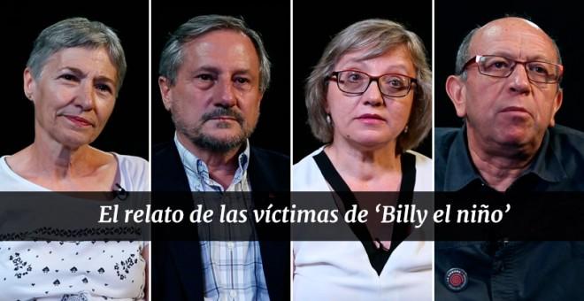 Víctimas de 'Billy el niño'