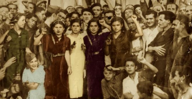 Imagen de la portada del libro '600 mujeres' de Eusebio Rodríguez y Juan Hidalgo.