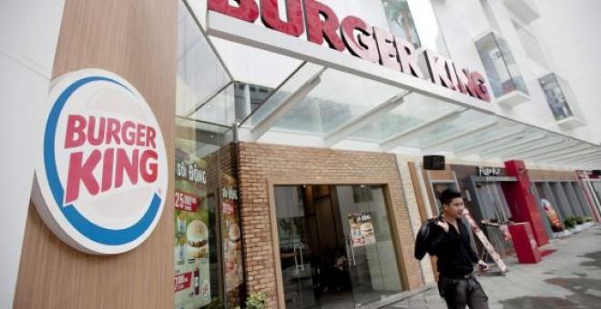 Un restaurante de Burger King. EFE