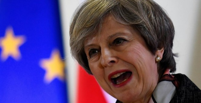 La primera ministra británica, Theresa May /REUTERS