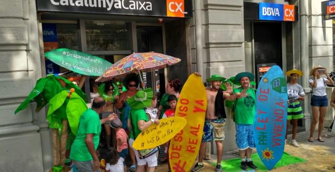 En el segundo trimestre se iniciaron ejecuciones for Cx catalunya caixa oficinas