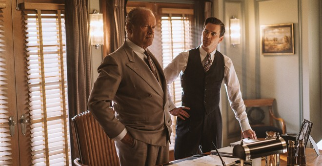 Matt Bomer, Kelsey Grammer y Lily Collins protagonizan 'The Last Tycoon'.