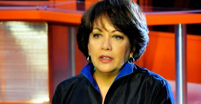 Arleen Rodríguez, periodista de Cubavisión y directiva de la Unión de Periodistas de Cuba. R. GARAICOA