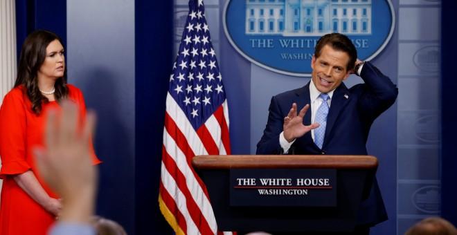 El director de comunicación de la Casa Blanca, Anthony Scaramucci.- REUTEERS