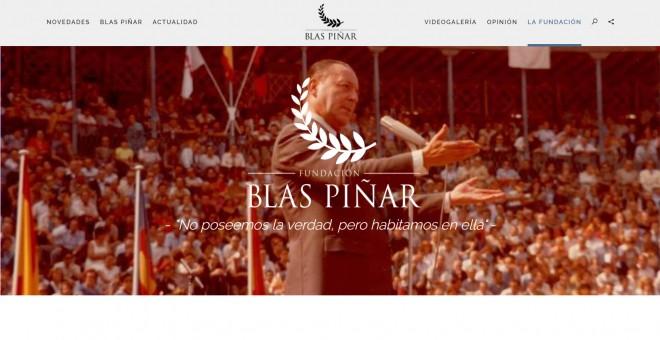 La Fundación Blas Piñar fue creada y registrada en 2014 por los hijos del líder de Fuerza Nueva.