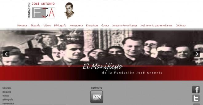 El gobierno de Aznar aceptó el registro de la fundación que homenajea a José Antonio Primo de Rivera.